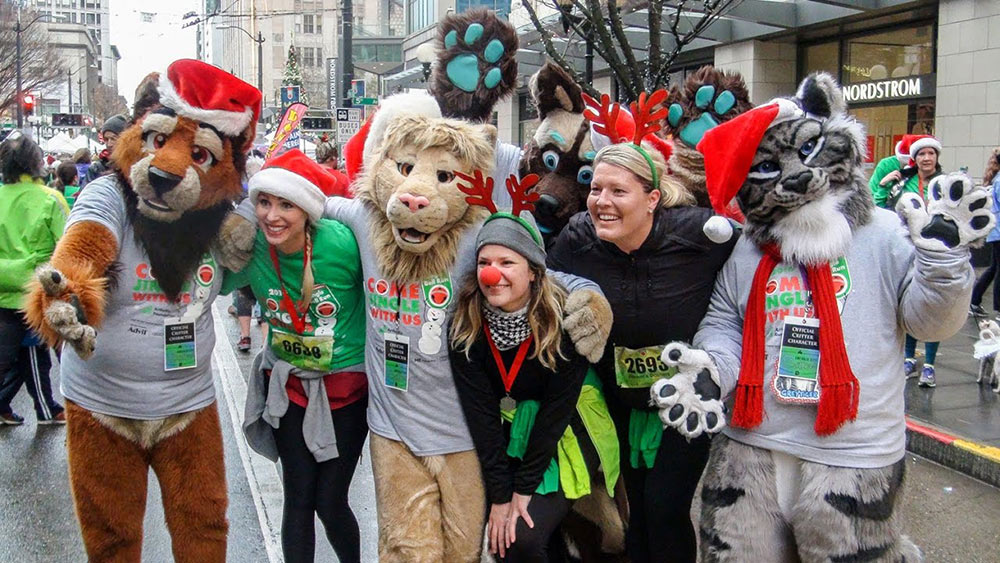Arthritis Foundation Annual Bellingham Jingle Bell Run